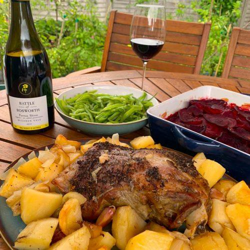FOOD PAIRING: Shiraz - Battle of Bosworth