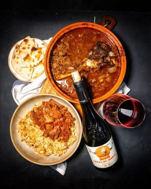 RECIPE & PAIRING: Slow Cooked Lamb Leg Tagine with Côtes du Rhône by Xavier Vignon
