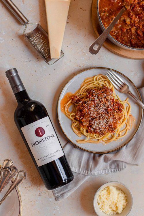 RECIPE & PAIRING: Hidden veg tomato pasta with Ironstone Zinfandel